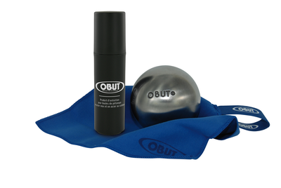 Produit d'entretien développé exclusivement par Obut pour la pétanque